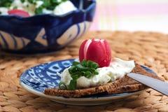 ψωμί βουτυρωμένο Στοκ εικόνα με δικαίωμα ελεύθερης χρήσης