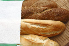 ψωμί γαλλικά Στοκ Εικόνες