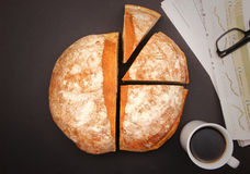 Ψωμί γραφικό Στοκ Φωτογραφία