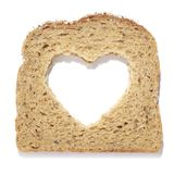 ψωμί εγκάρδιο Στοκ Εικόνες