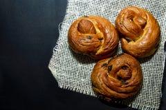 Ψωμί ζάχαρης Πάσχας Στοκ φωτογραφία με δικαίωμα ελεύθερης χρήσης