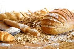 Ψωμί και δημητριακά στοκ φωτογραφία