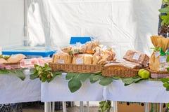 Ψωμί και μπισκότα για την πώληση Στοκ Φωτογραφίες