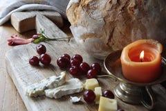 Ψωμί και τυρί Στοκ Φωτογραφία