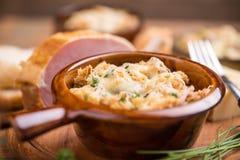Ψωμί και τυρί στοκ εικόνες