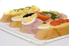 ψωμί κατειλημμένο Στοκ Εικόνα