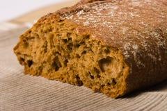 ψωμί καφετί Στοκ Φωτογραφία