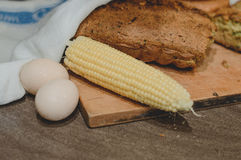 Ψωμί καλαμποκιού Στοκ Φωτογραφίες