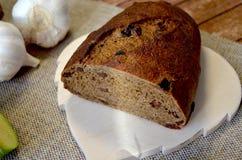 Ψωμί με το σκόρδο Στοκ Εικόνα