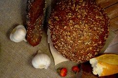 Ψωμί με το σκόρδο Στοκ Φωτογραφία