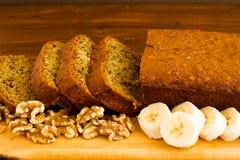 Ψωμί μπανανών Στοκ Φωτογραφία