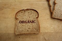 ψωμί οργανικό Στοκ Φωτογραφίες