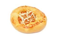 Ψωμί πιτσών Στοκ Εικόνες