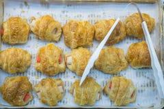 Ψωμί που γεμίζεται για την πώληση Στοκ Φωτογραφίες