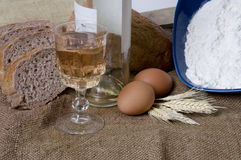 ψωμί που κάνει τη σειρά στοκ εικόνα με δικαίωμα ελεύθερης χρήσης