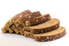 ψωμί που τεμαχίζεται Στοκ Φωτογραφία