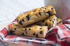 Ψωμί ραβδιών τσιπ σοκολάτας Στοκ φωτογραφίες με δικαίωμα ελεύθερης χρήσης