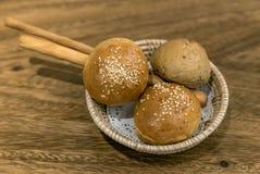 Ψωμί ρόλων γευμάτων Στοκ φωτογραφία με δικαίωμα ελεύθερης χρήσης