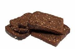 ψωμί σίκαλης με τα σιτάρια Στοκ Φωτογραφία