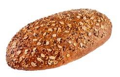 Ψωμί σίκαλη-σίτου με τους σπόρους Στοκ Φωτογραφία
