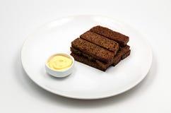 Ψωμί σίκαλης που ψήνεται Στοκ φωτογραφία με δικαίωμα ελεύθερης χρήσης