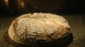 Ψωμί σίκαλης απόθεμα βίντεο