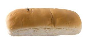 Ψωμί σε μια άσπρη ανασκόπηση Στοκ Εικόνες