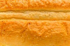 Ψωμί σκόρδου κινηματογραφήσεων σε πρώτο πλάνο Στοκ εικόνες με δικαίωμα ελεύθερης χρήσης