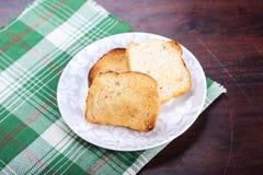 Ψωμί σκόρδου, ινδικό ύφος Στοκ εικόνα με δικαίωμα ελεύθερης χρήσης