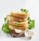 Ψωμί σκόρδου Στοκ Εικόνα
