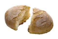 Ψωμί στον άσπρο πίνακα στοκ εικόνα με δικαίωμα ελεύθερης χρήσης