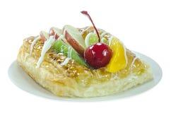 Ψωμί στο πιάτο Στοκ εικόνα με δικαίωμα ελεύθερης χρήσης