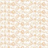 Ψωμί τυλίγοντας εγγράφου διανυσματική απεικόνιση