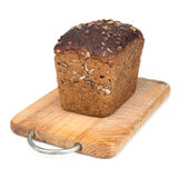 ψωμί χαρτονιών ξύλινο Στοκ εικόνες με δικαίωμα ελεύθερης χρήσης