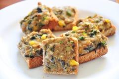 Ψωμί χοιρινού κρέατος στοκ εικόνες