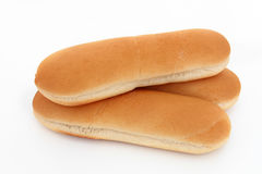 Ψωμί χοτ-ντογκ Στοκ φωτογραφία με δικαίωμα ελεύθερης χρήσης