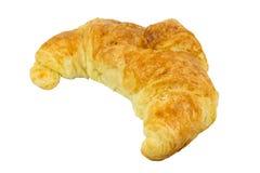 Ψωμί Croissant που απομονώνεται στο άσπρο υπόβαθρο Στοκ Εικόνες