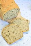 Ψωμί Homebaked με τους σπόρους Στοκ εικόνα με δικαίωμα ελεύθερης χρήσης