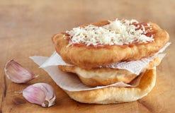 Ψωμί Langos Στοκ Εικόνες