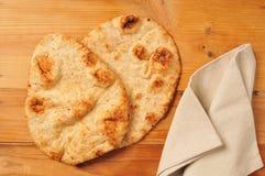 Ψωμί Naan Στοκ Εικόνες