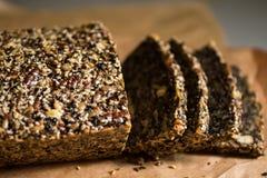 Ψωμί Paleo, γλουτένη ελεύθερη Στοκ Φωτογραφίες