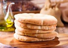 Ψωμί Pita Στοκ φωτογραφία με δικαίωμα ελεύθερης χρήσης