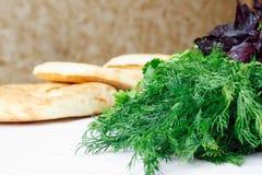 Ψωμί Pita (lavash) Στοκ εικόνες με δικαίωμα ελεύθερης χρήσης