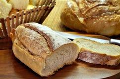 ψωμιά ιταλικά στοκ φωτογραφία