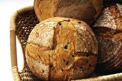 ψωμιά καλαθιών στοκ φωτογραφίες
