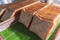Ψωμιά: Καφετής (καταναλώνεται εν μέρει) Στοκ εικόνες με δικαίωμα ελεύθερης χρήσης