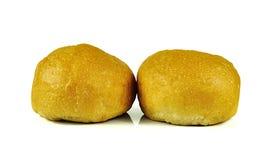 Ψωμιά που απομονώνονται στο άσπρο υπόβαθρο Στοκ φωτογραφία με δικαίωμα ελεύθερης χρήσης