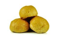 Ψωμιά που απομονώνονται στο άσπρο υπόβαθρο Στοκ Εικόνα