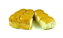 Ψωμιά που απομονώνονται στο άσπρο υπόβαθρο Στοκ Φωτογραφία