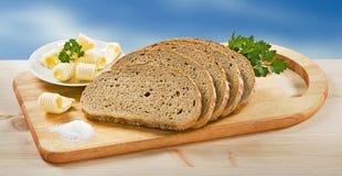 ψωμιού άλας που τεμαχίζε&ta στοκ φωτογραφία